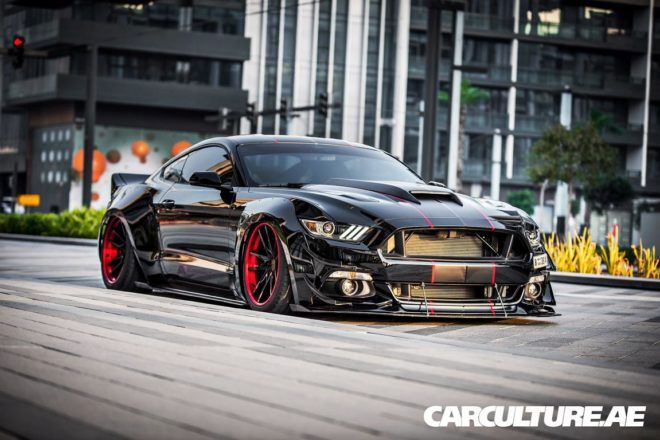 Widebody Ford Mustang GT AMP tuning (44)