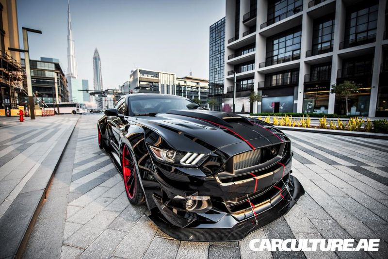 Widebody Ford Mustang GT AMP tuning (59)