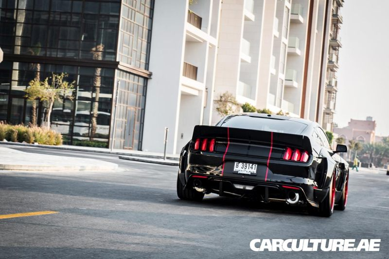 Widebody Ford Mustang GT AMP tuning (6)