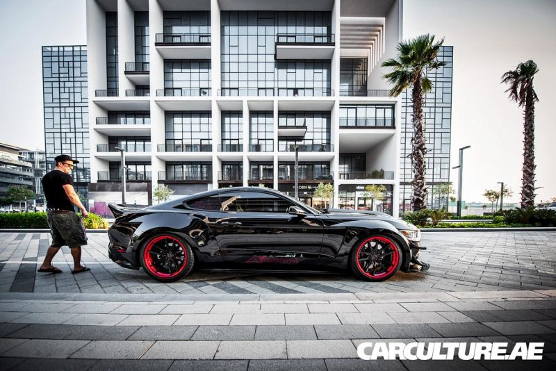 Widebody Ford Mustang GT AMP tuning (61)