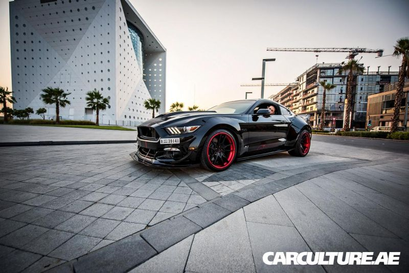 Widebody Ford Mustang GT AMP tuning (66)