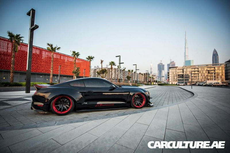 Widebody Ford Mustang GT AMP tuning (67)