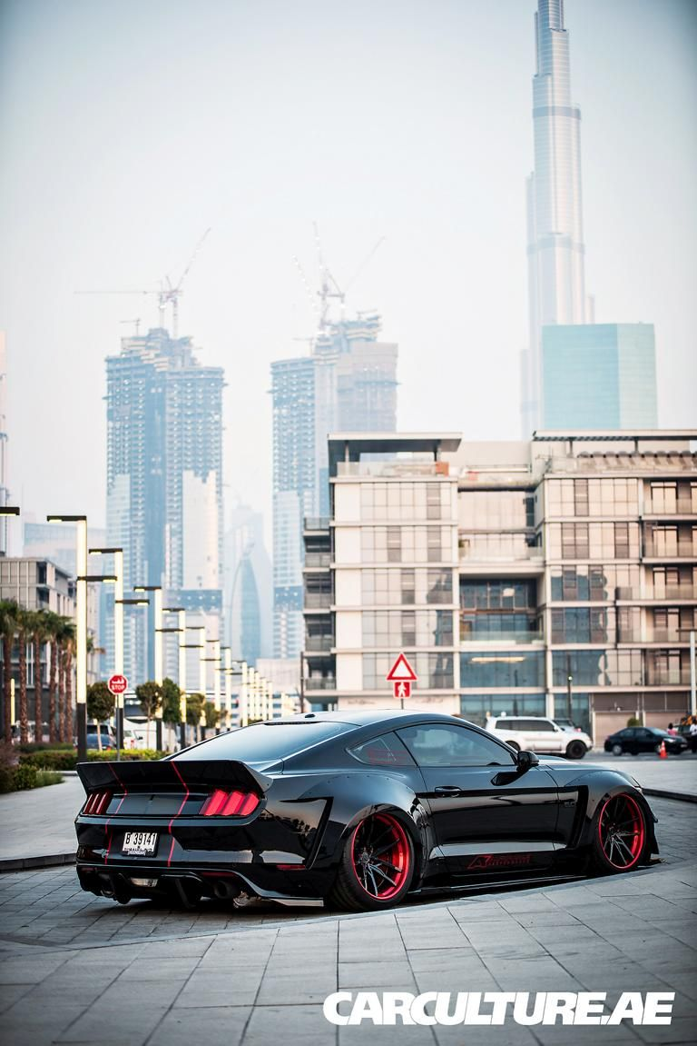 Widebody Ford Mustang GT AMP tuning (90)