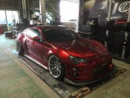 Widebody Kit Work Wheels Toyota GT86 Tuning 1 190x143 Widebody Kit & Work Wheels am Toyota GT86 von Kuhl Racing