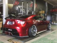 Widebody Kit Work Wheels Toyota GT86 Tuning 2 190x143 Widebody Kit & Work Wheels am Toyota GT86 von Kuhl Racing
