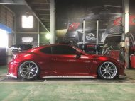 Widebody Kit Work Wheels Toyota GT86 Tuning 3 190x143 Widebody Kit & Work Wheels am Toyota GT86 von Kuhl Racing