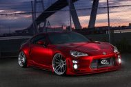 Widebody Kit Work Wheels Toyota GT86 Tuning Kuhl Racing 1 190x127 Widebody Kit & Work Wheels am Toyota GT86 von Kuhl Racing