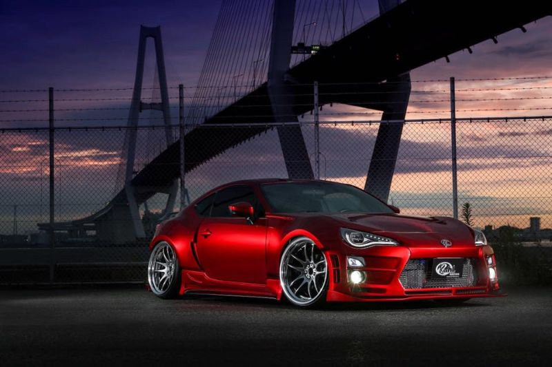 Widebody Kit Work Wheels Toyota GT86 Tuning Kuhl Racing 12 Widebody Kit & Work Wheels am Toyota GT86 von Kuhl Racing