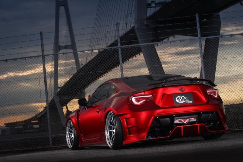 Widebody Kit Work Wheels Toyota GT86 Tuning Kuhl Racing 2 Widebody Kit & Work Wheels am Toyota GT86 von Kuhl Racing