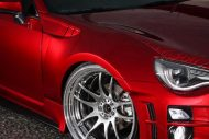 Widebody Kit Work Wheels Toyota GT86 Tuning Kuhl Racing 8 190x127 Widebody Kit & Work Wheels am Toyota GT86 von Kuhl Racing