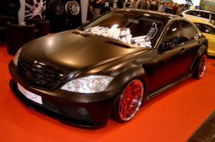 Widebody Mercedes S-Klasse W221 Tuning Livani Wheels (11)
