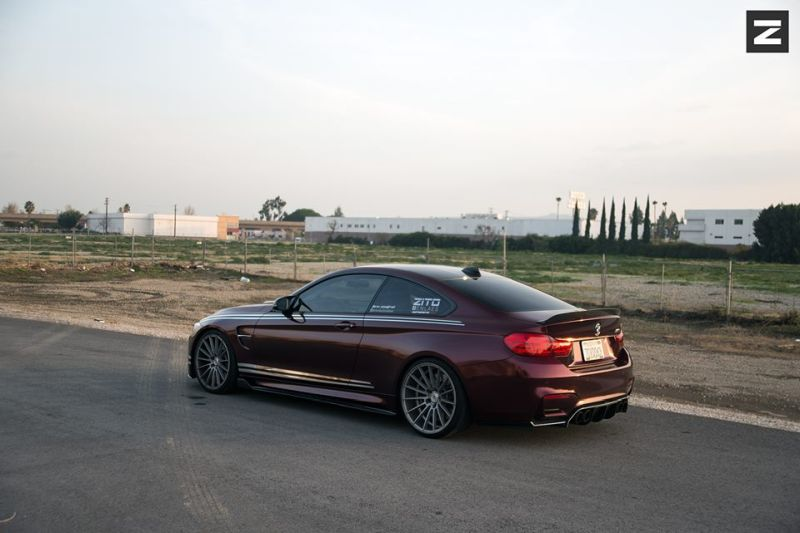 ZITO ZS15 Felgen BMW M4 F82 Coupe Tuning (8)