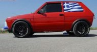 Zastava Yugo Tuning PT6265 Turbo 2 190x102 Video: 650PS im kleinen Zastava Yugo mit PT6265 Turbo