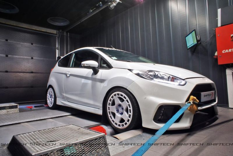 chiptuning Ford Fiesta 1 1 Deutlich   161PS & 263NM im Shiftech Ford Fiesta 1.0T