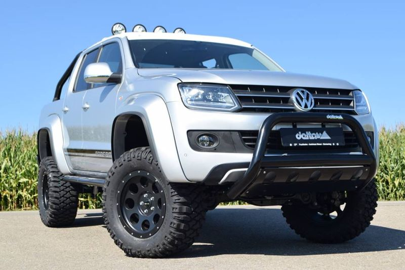 photo story delta4x4 tuning on vw amarok pickup magazine. Black Bedroom Furniture Sets. Home Design Ideas