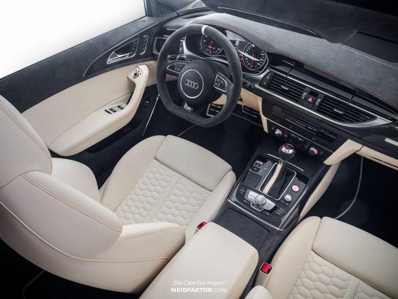 Fotostory: Neidfaktor Interieur im Audi A6 RS6 Avant - tuningblog.eu ...