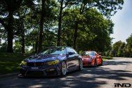 tuning bmw m4 porsche gt3 rs 2016 12 190x127 Fotstory: BMW M4 F82 von iND trifft auf Porsche GT3 RS