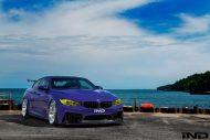 tuning bmw m4 porsche gt3 rs 2016 7 190x127 Fotstory: BMW M4 F82 von iND trifft auf Porsche GT3 RS