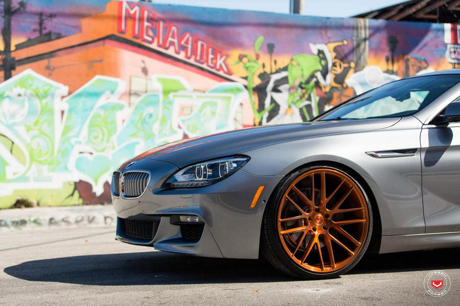 20 Zoll Vossen VFS 308 BMW 6er F06 Gran Coupe Tuning 3 20 Zoll Vossen VFS 308 Alu's am BMW 6er F06 Gran Coupe