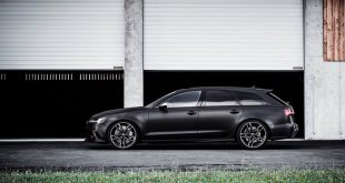 2016 Audi RS6 Avant C7 black brush folierung mattschwarz 1 310x165 2016er Audi RS6 Avant C7 in mattschwarz by BlackBox Richter