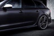 2016 Audi RS6 Avant C7 black brush folierung mattschwarz 3 190x127 2016er Audi RS6 Avant C7 in mattschwarz by BlackBox Richter