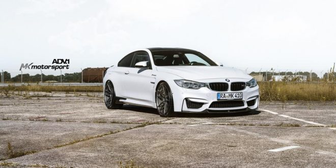 20 Zoll ADV5.2 Felgen am MK-Motorsport BMW M4 F82 Coupe
