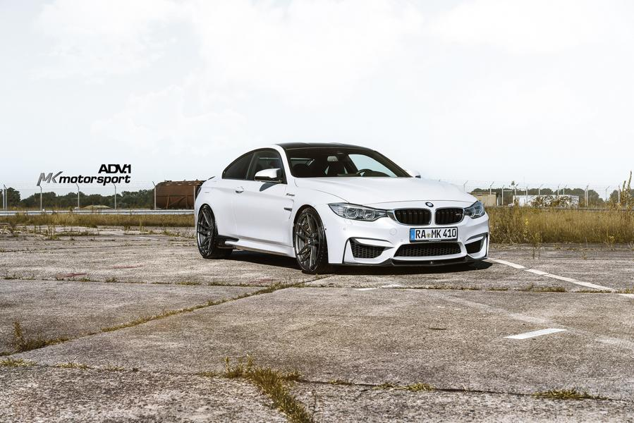 ADV5.2 BMW M4 F82 Coupe Tuning 2 20 Zoll ADV5.2 Felgen am MK Motorsport BMW M4 F82 Coupe