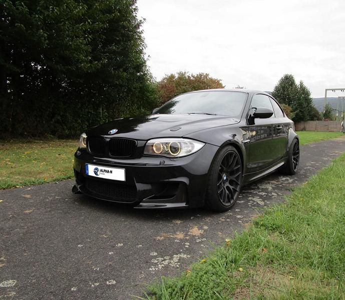 Alpha N Performance BMW 1M E82 Coupe Tuning 2 Fotostory: Alpha N Performance BMW 1M E82 Coupe