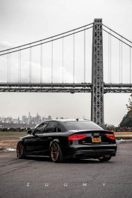 Audi A4 S4 B8 Tuning M621 Airride 12 190x285 Extrem schick   Audi A4 S4 Limo auf M621 Alu's & Airride