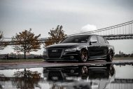 Audi A4 S4 B8 Tuning M621 Airride 21 190x127 Extrem schick   Audi A4 S4 Limo auf M621 Alu's & Airride