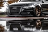 Audi A4 S4 B8 Tuning M621 Airride 22 155x103 Extrem schick   Audi A4 S4 Limo auf M621 Alu's & Airride