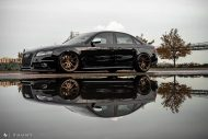 Audi A4 S4 B8 Tuning M621 Airride 25 190x127 Extrem schick   Audi A4 S4 Limo auf M621 Alu's & Airride