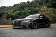 Audi A4 S4 B8 Tuning M621 Airride 31 190x127 Extrem schick   Audi A4 S4 Limo auf M621 Alu's & Airride