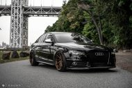 Audi A4 S4 B8 Tuning M621 Airride 35 190x127 Extrem schick   Audi A4 S4 Limo auf M621 Alu's & Airride