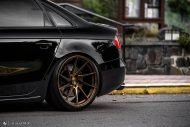 Audi A4 S4 B8 Tuning M621 Airride 4 190x127 Extrem schick   Audi A4 S4 Limo auf M621 Alu's & Airride