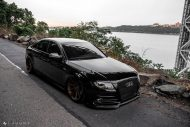 Audi A4 S4 B8 Tuning M621 Airride 41 190x127 Extrem schick   Audi A4 S4 Limo auf M621 Alu's & Airride