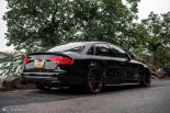 Audi A4 S4 B8 Tuning M621 Airride 42 155x103 Extrem schick   Audi A4 S4 Limo auf M621 Alu's & Airride