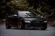 Audi A4 S4 B8 Tuning M621 Airride 43 190x127 Extrem schick   Audi A4 S4 Limo auf M621 Alu's & Airride