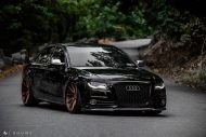 Audi A4 S4 B8 Tuning M621 Airride 45 190x127 Extrem schick   Audi A4 S4 Limo auf M621 Alu's & Airride
