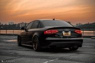Audi A4 S4 B8 Tuning M621 Airride 49 190x127 Extrem schick   Audi A4 S4 Limo auf M621 Alu's & Airride