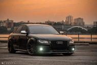 Audi A4 S4 B8 Tuning M621 Airride 50 190x127 Extrem schick   Audi A4 S4 Limo auf M621 Alu's & Airride