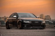 Audi A4 S4 B8 Tuning M621 Airride 51 190x127 Extrem schick   Audi A4 S4 Limo auf M621 Alu's & Airride