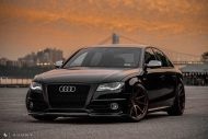 Audi A4 S4 B8 Tuning M621 Airride 53 190x127 Extrem schick   Audi A4 S4 Limo auf M621 Alu's & Airride
