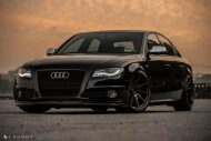 Audi A4 S4 B8 Tuning M621 Airride 54 190x127 Extrem schick   Audi A4 S4 Limo auf M621 Alu's & Airride