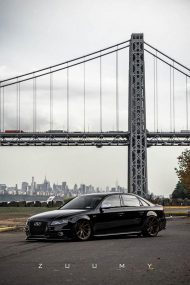 Audi A4 S4 B8 Tuning M621 Airride 6 190x285 Extrem schick   Audi A4 S4 Limo auf M621 Alu's & Airride