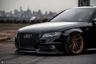 Audi A4 S4 B8 Tuning M621 Airride 7 190x127 Extrem schick   Audi A4 S4 Limo auf M621 Alu's & Airride