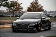 Audi A4 S4 B8 Tuning M621 Airride 9 190x127 Extrem schick   Audi A4 S4 Limo auf M621 Alu's & Airride