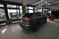 Audi RSQ3 gunmetall metallic matt Folierung 1 190x126 Print Tech   Folierungen an Golf, GT3 RS, RSQ3 & SL55 AMG & Co.