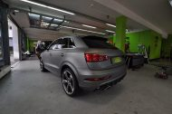 Audi RSQ3 gunmetall metallic matt Folierung 3 190x126 Print Tech   Folierungen an Golf, GT3 RS, RSQ3 & SL55 AMG & Co.