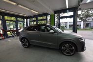 Audi RSQ3 gunmetall metallic matt Folierung 5 190x126 Print Tech   Folierungen an Golf, GT3 RS, RSQ3 & SL55 AMG & Co.